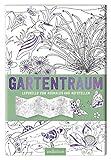 Leporello Gartentraum zum ausmalen und aufstellen 13,6x20cm 10 Seiten