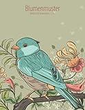 Blumenmuster-Malbuch für Erwachsene 1, 2 & 3