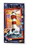 Schipper 609220399 - Malen nach Zahlen - Leuchtturm Roter Sand, 40x80 cm