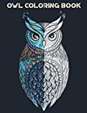 Owl Coloring Book: with over 20 beautiful owl designs for adults