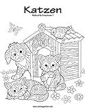 Katzenmalbuch für Erwachsene 1