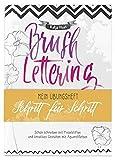 Brushlettering - Mein Übungsheft: Schritt für Schritt (monbijou)