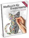 Malbuch für Erwachsene: Fantastisches Tierreich (Kleestern, A4 Format, 40+ Motive) (A4 Malbuch für Erwachsene, Band 19)