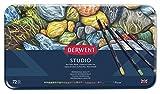 Derwent Studio Buntstifte in Metallbox, 72 Stifte