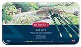 Derwent Artists Buntstifte in Metallbox, 72 Stück