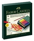 Faber-Castell 110024 - Künstlerfarbstift, 24 Polychromos Metalletui (Einzeln, 36er Atelierbox)