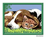 Ravensburger 28416 - Wie Hund und Katze - Malen nach Zahlen, 30 x 24 cm