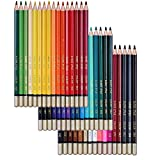 SUDEE STILE Buntstiefte 48 Einzigartige Farben (keine Duplikate) Bleistifte Farbe Set
