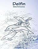 Delfin-Malbuch für Erwachsene 1