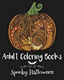 Adult Coloring Books: Spooky Halloween