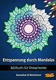 Malbuch für Erwachsene - Entspannung durch Mandalas