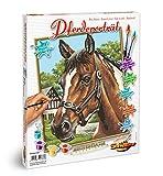 Schipper 609240381 609240381-Malen nach Zahlen-Pferdeporträt, 24x30 cm