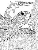 Schildkröten-Malbuch für Erwachsene 1
