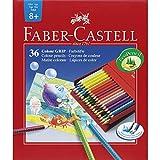 Faber-Castell 112436 - Farbstift Colour Grip Atelierbox 36er