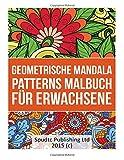 Geometrische Mandala Patterns Malbuch für Erwachsene