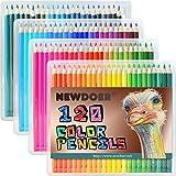 Newdoer 120 Ultimate Buntstift-Set, die besten Buntstifte für Künstler, Comics, Illustration, Innenarchitekt, Student, Kunst und Adult Coloring-Liebhaber
