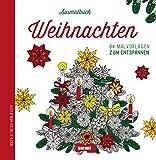 Malbuch für Erwachsene - Weihnachten