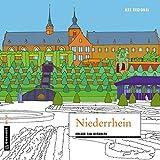 MAL REGIONAL - Niederrhein: Urlaub zum Ausmalen (MALRegional im GMEINER-Verlag)