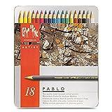 Caran d 'Ache Pablo Farbe Bleistifte Set von 18