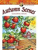 Creative Haven Autumn Scenes Coloring Book (Adult Coloring) (Creative Haven Coloring Book)