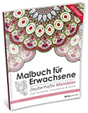 Malbuch für Erwachsene: Zauberhafte Mandalas (Kleestern, A4 Format, 40+ Motive) (A4 Malbuch für Erwachsene)