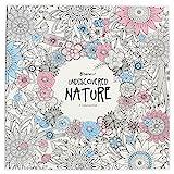 beneart Malbuch Für Erwachsene: Undiscovered Nature Entdecke Die Natur - Ausmalbücher - Malvorlagen - Florale Bilder zum Ausmalen