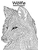 Wölfe-Malbuch für Erwachsene 1