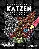 Komplizierte Katzen: Erwachsenen-Malbuch (Kompliziertes Ausmalen)