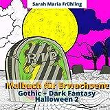 Malbuch für Erwachsene - Gothic + Dark Fantasy - Helloween 2
