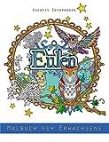 Eulen - Malbuch für Erwachsene: Kreativ entspannen