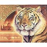 Schipper Indian Bengal Tiger Malen nach Zahlen 40 x 50 cm