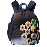 Kinderrucksack Künstler-Farbstifte, Schulrucksack Für Mädchen Und Jungen Schultasche Schulranzen Teenager Backpack Daypack Freizeitrucksack Kinder Rucksack
