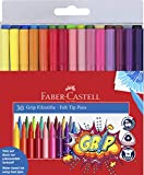 Faber-Castell 155335 - Filzstift Grip Colour Marker, 30er Etui