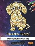 Traumhafte Tierwelt: Malbuch für Erwachsene   Mitternacht Edition