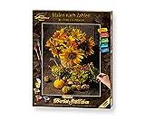 Schipper 609130743 Malen nach Zahlen, Buntes Herbststillleben - Bilder malen für Erwachsene, inklusive Pinsel und Acrylfarben, 40 x 50 cm