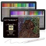 Gelstifte von Hethrone 60 einzigartiges Gelfarbstifteset zur professionellen Anwendung, zum Malen, Skizzieren, Zeichnen und Schreiben von Tagebüchern und Notizen