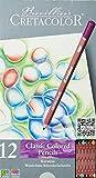 CRETACOLOR Karmina | Wasserfeste Künstlerstifte | 12 Farben