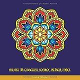 Malbuch für Erwachsene, Senioren, Anfänger, Kinder: Einfache Mandalas: Einfache Malbuch für Erwachsene Entspannung: Mandala Malbuch
