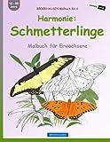 BROCKHAUSEN Malbuch Bd. 6 - Harmonie: Schmetterlinge: Malbuch für Erwachsene