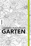Leporello Ausmalbuch: Garten