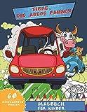 Tiere, Die Autos Fahren Malbuch Für Kinder: Zootiere am Steuer von Fahrzeugen , Autos, Motorrädern und vieles mehr! Entspannendes Malen und erzieherische Aktivität für Kinder!!