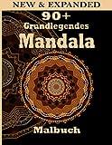 90+ Grundlegendes Mandala Malbuch: Ein Malbuch für Erwachsene mit Spaß, einfach, einfach und entspannend für Jungen, Malvorlagen für Mädchen und Anfänger