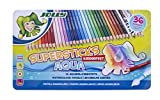 JOLLY 3001-0003 - Superstick Aqua, Lernmaterialien, 36 Farben…