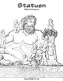 Statuen-Malbuch für Erwachsene 1