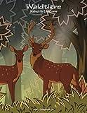 Waldtiere-Malbuch für Erwachsene 1