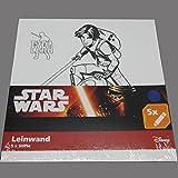 Star Wars Leinwand + 5 Stifte