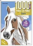 1000x Punkt zu Punkt: Tiere: 20 Tierporträts ganz einfach selber zeichnen