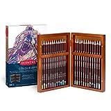 Derwent Coloursoft Buntstifte, in Holzbox, 24 Stück