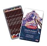 Derwent 0701026 Coloursoft Buntstift, 12 Stück