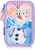 Disney Die Eiskönigin 2700000245 3-fach Federtasche, 42-teilig. Anna und Elsa
